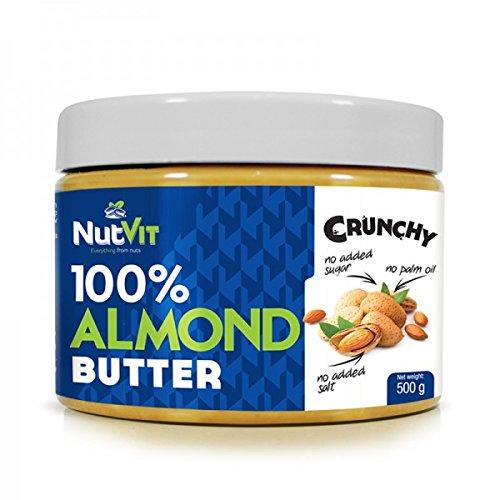 Ostrovit NutVit 100% Almond Butter Crunchy 500g