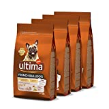 ultima Pienso para Perros French Bulldog - Pack de 4 x 1.5 kg, Total: 6 kg