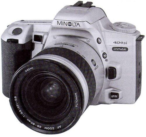 Minolta Dynax 404si Spiegelreflexkamera Silber (nur Gehäuse)