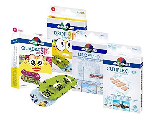 Sparpack zum Probieren! | sensitive Pflaster | wasserfest | atmungsaktiv | Kinderpflaster Pflasterset für die Familie