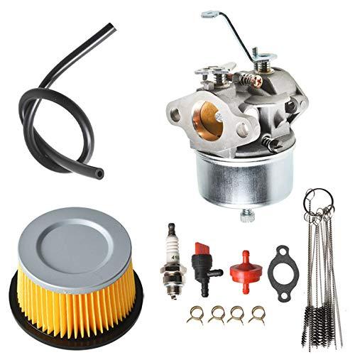ALL-CARB Carburetor with Air Filter Clean Jet Spark Plug Kit Replacement for Tecumseh H30 H50 H60...