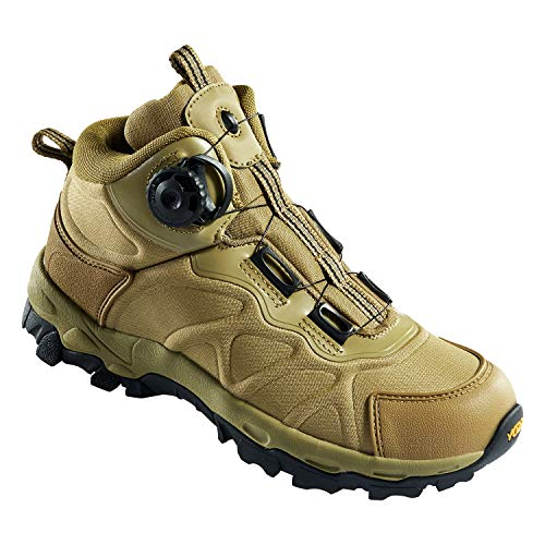 NEW VIEW Hiking Boots Military Men BOA Lacing System Hiking Shoes (03, 10.5)
