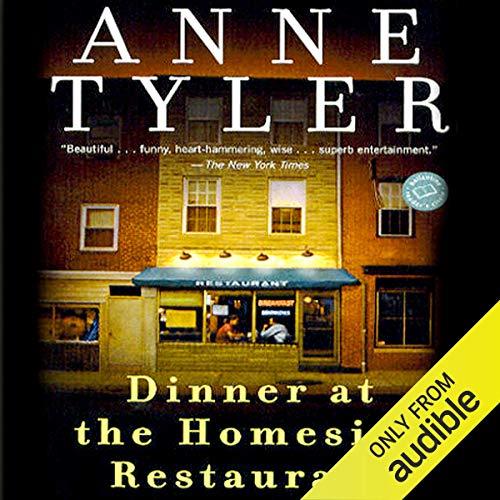 Page de couverture de Dinner at the Homesick Restaurant