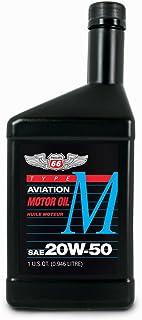 Phillips 66 Type M Aviation Oil 20w-50 - 12/1 qt. case