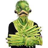 molezu Variante de Halloween bagre Diablo Zombie Elfos máscara de sombrerería aterradora y difícil c...