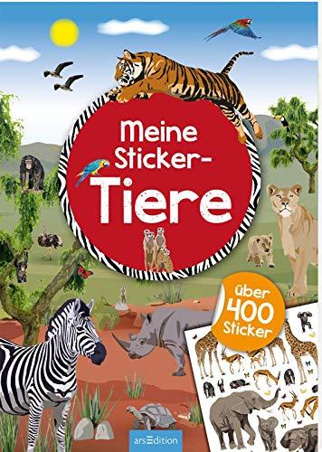 Meine Sticker-Tiere: Mit über 400 Stickern | Stickerheft für Tier-Fans ab 4 Jahren (Mein Stickerbuch)