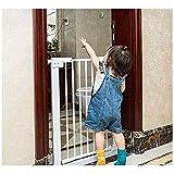 LNDDP Free Punching Baby Gates für Treppen Zaun Sicherheitstor Kinderküche Zaun Haustierzaun Selbstschließend