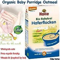 ホレ社 オーガニック全粒オートミール離乳食マッシュ(4ヶ月から) 250g