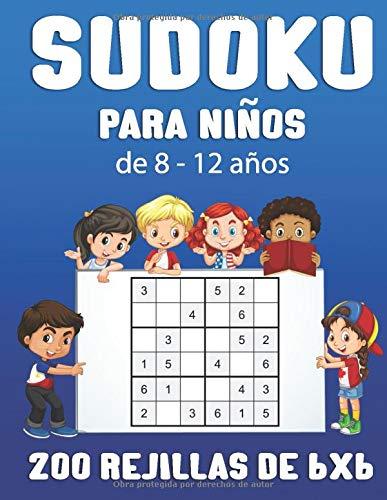 Sudoku para niños de 8 a 12 años:   libro de 200...