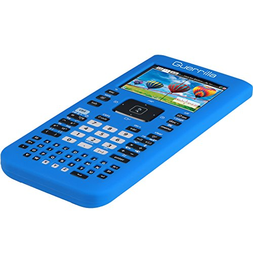 Guerrilla Silicone Case for Texas Instruments TI Nspire CX/CX CAS Graphing Calculator, Blue Photo #3