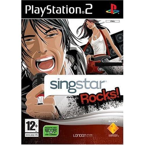 SingStar Rocks! - Solus (PS2)