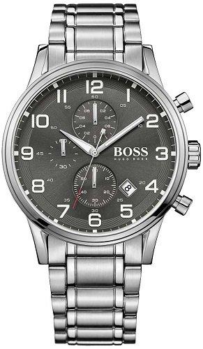 Herren Quarz-Armbanduhr Hugo Boss AEROLINER 1513181