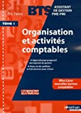 Organisation et activités comptables BTS Assisitant de Gestion PME-PMI : Tome 1 (Les pochettes)
