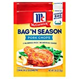 McCormick Original Pork Chops Seasoning Mix 1.06 Ounce (Pack of 2)