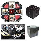 Sparta's Store Explosion Box Scrapbook Creative DIY Photo Album,Caja de Regalo...