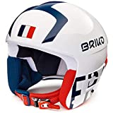 Briko Casque De Ski Vulcano Fis 6.8 France White Blue Red