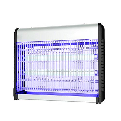 IAIZI Insetticida Elettrico UV della Lega di Alluminio per la Presa d'Aria Commerciale del Ristorante 110~220V Che appende Il Telaio a Catena, 4 Dimensioni facoltative (Color : 60W-650x86x320mm)