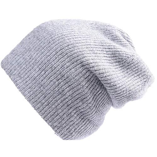 JIAYUAN Protective mask hat Reine Wolle Normallack einfaches Temperament Strickmütze...