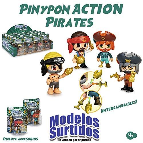 Pinypon Action Figura Pirata (Famosa 44715581)