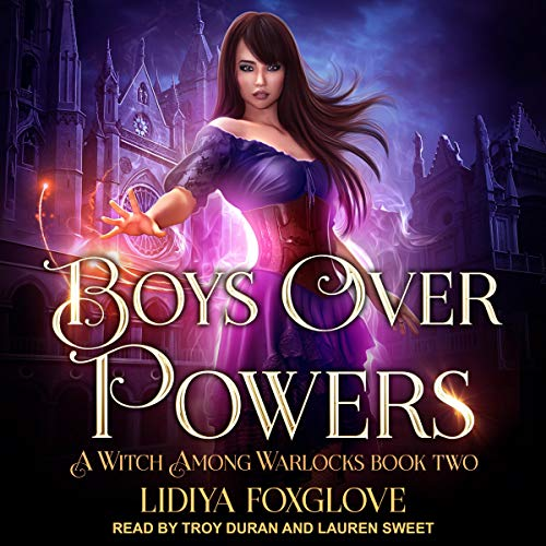 Boys Over Powers audiobook cover art