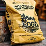 Fogo Super Premium Oak Restaurant All-Natural Hardwood Lump Charcoal for Grilling and Smoking, 17.6 Pounds
