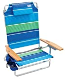 Rio Beach Big Kahuna Extra Large Folding Beach Chair - Stripe, 9.5'