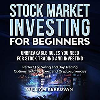 Stock Market Investing for Beginners: Unbreakable Rules You Need for Stock Trading and Investing audiobook cover art