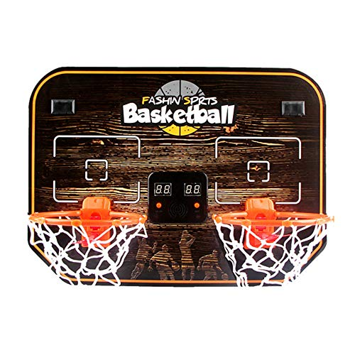 Lykmera Mini Basketball Hoop Indoor Play Set for 2 Kids, Dual Mini...