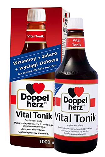Doppelherz Vital Tonic 1000 ml Vitamins Heart Health