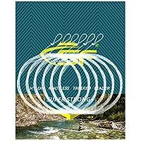 SF Loop - Lineador de Pesca con Mosca, Nailon, 6 Unidades, 2,3 m, 3,6 m, 2,7 m, 1 x 2 x 3 x 4 x 5 x 6 x 7 x, 9FT-1X, 6 Paquetes de Nailon Transparente preatados.
