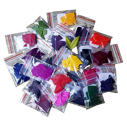 24 colores para velas, cera para colorear velas, 48 colores