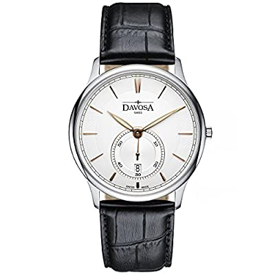 Davosa Swiss Flatline Analog Men Wrist Watch