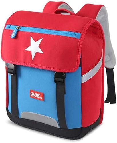 ETSHUBAO Rucksack Kinder Ultra Leichten Gewichtsverlust Schulter reflexstreifen SBR Umweltfreundliche Atmungsaktive Rucksack 2 Farben optional Geeignet für 6-12 Jahre Alt
