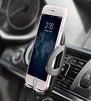 【Große Kompatibilität】Im Hochformat nutzbar. Kompatibel mit meisten Mobiltelefonen (5cm-10 cm). Eigenet sich für iPhone 7, 7 Plus, 6, 6 Plus, iPhone SE, 5, 5s, 5c, 4, 4s, Android Samsung Galaxy S5, S4, S3, Note3 und anderen Smartphones. 【zwei Stufen,...