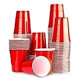 Grupo Todoluminosos Vasos Beer Pong - 24 Unidades - Vasos Rojos Americanos