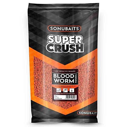 Sonubaits Bloodworm Fishmeal Groundbait 2kg S0770016 Grundfutter Karpfenfutter