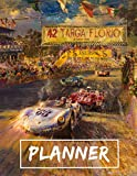 42 Targa Florio Daily Planner for Men: Awesome Planner 120 pages 8.5x11',perfect for men, women, boys and girls and for any car lovers enthusiast, unique holiday gift idea