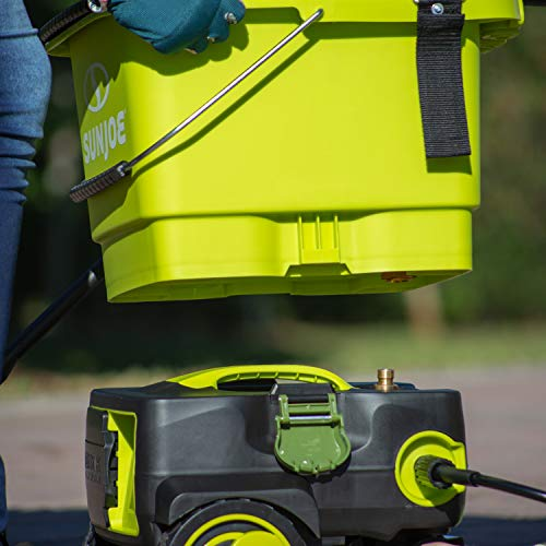 Product Image 2: Sun Joe SPX6001C-XR 1160 PSI Max Cordless Pressure Washer, Kit (w/5.0-Ah Battery + Quick Charger)
