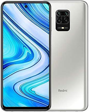 "Xiaomi Redmi Note 9 Pro 128GB + 6GB RAM, 6.67"" FHD+ DotDisplay, 64MP AI Quad Cámara, Qualcomm Snapdragon 720G LTE Factory Desbloqueado Smartphone - Versión internacional (blanco glaciar)"