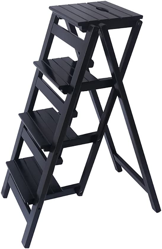 YI Sale special price GAO 4 Step Stool Ladder Department store Adults Wooden for Folding Kids