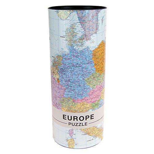 Extragoods Europa Puzzle / EU Karte 1000 Teile - Die gesamte EU 68 x 48 cm