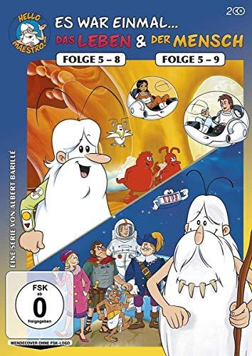 Das Leben (Folge 5-8) & Der Mensch (Folge 5-9) (2 DVDs)