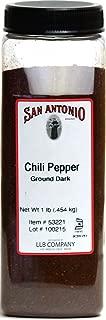 1-Pound Premium Ground New Mexico Dark Chile Pepper Chili Powder