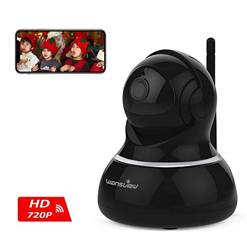 Wansview HD Wireless Security Camera, WiFi Home Monitor Surveillance Camera for Baby/Elder/