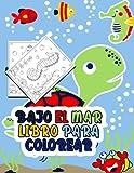 Bajo el mar Libro para colorear: Libro de actividades para niños