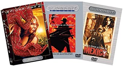 Action Romance Superbit 3-Pack Spider-Man 2 / The Mask of Zorro / Once Upon a Time in Mexico