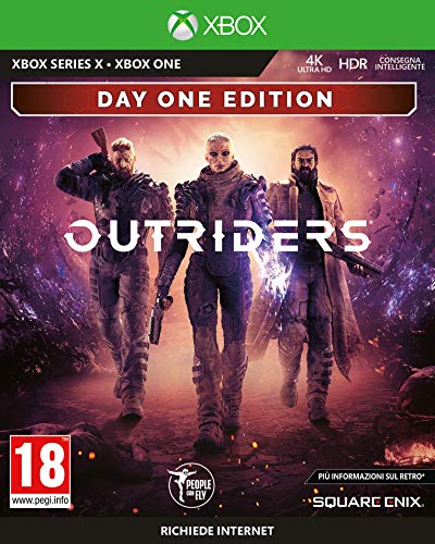 Outriders - Day One Edition - Xbox One [Importación italiana]