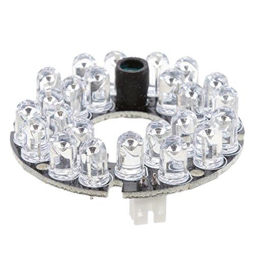 Universale Telecamera CCTV Camera 24 IR LED Modulo per Videocamere di Sorveglianza
