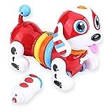 Dilwe RC Perro, Control Electrnico Remoto Robtico Perrito Interactivo Cantando Bailando Robot Perro Juguete para Nios