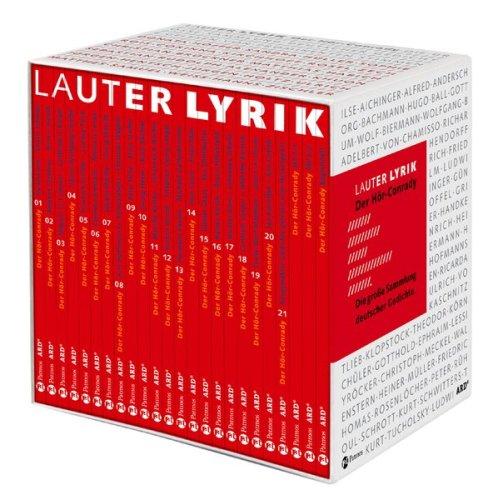Lauter Lyrik - Der Hör-Conrady: Die grosse Sammlung deutscher Gedichte